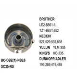 Bobbin Case Standard Type   use for Brother  LE2-B861-1, TZ1-B651, 652   Durkopp  199, 289, 419, 489