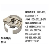 Bobbin Case Standard Type  use for  Brother BAS-400, LE2-B861-1, -7    Juki  DDL-272, LZ-271   Golden Wheel CS-335BH, 335U, 8703