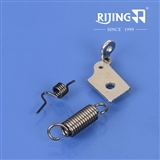 Cloth Retainer Spring, Feed Plate Spring, Needle Clamp Screw Plate use for Juki CB-641