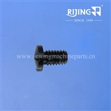 Screw for NEWLONG HR-4 carpet overedge machine / carpet overlock machine