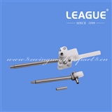 ( 0667 315053 Presser Foot Bar, 0667 315113 Feeding Foot Bar, 0867 310430 Bolt ) Presser and Feeding Feet Bar Assembly for Durkopp 868, 867, 1767