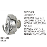 Rotary Hook Low Speed Type use for  Brother  LE2-B861-1   Sunstar  KLZ-371