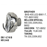 Rotary Hook Low Speed Type use for  Brother  BAS-400 / TZ1-B651/652 / LE2-B861-7